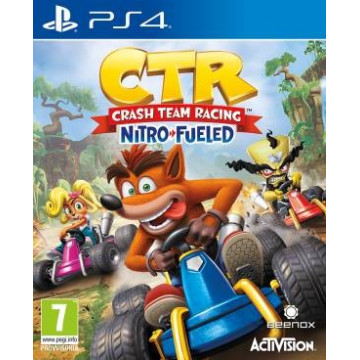 PS4 Crash Team Racing...