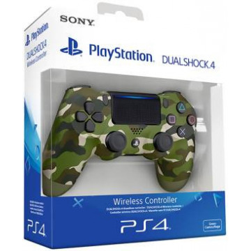 PS4 Dualshock 4 Green Camo V2