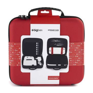 Switch BigBen Storage Case Red
