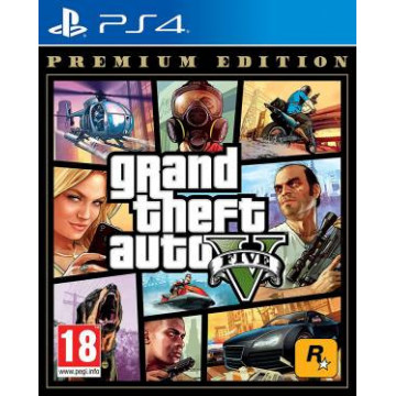 PS4 GTA Grand Theft Auto 5...