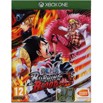 XBOX ONE One Piece Burning...
