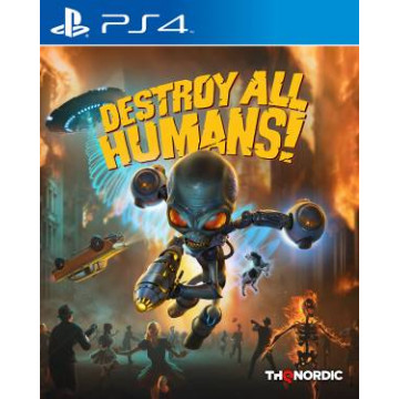 PS4 Destroy All Humans! EU