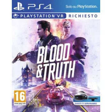 PS4 Game Blood and Truth VR EU