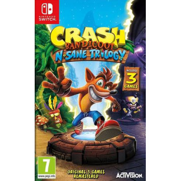 Switch Crash Bandicoot...