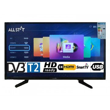 "TV LED 43"" ALL STAR ASTV43S..."