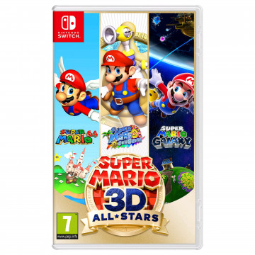 Switch Super Mario 3D All...