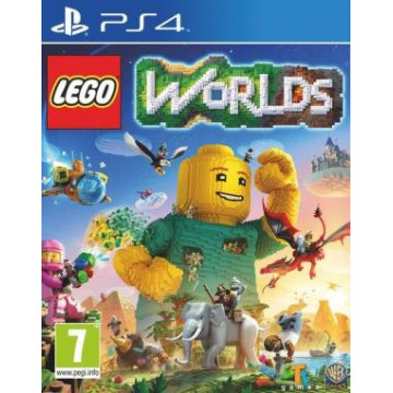 PS4 video Game LEGO Worlds